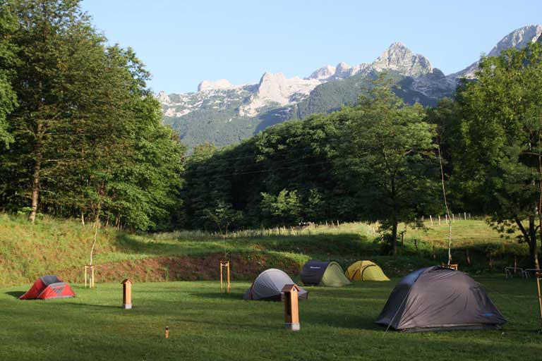 BASE CAMP BOVEC