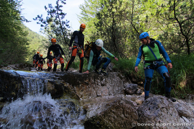 Canyoning Soca Valey Advanced