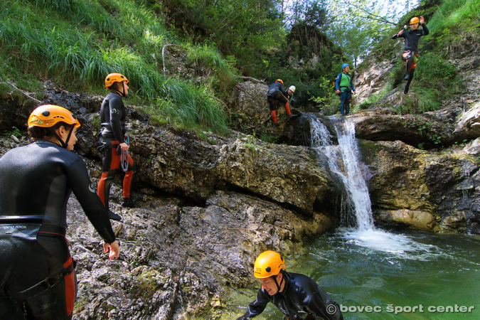 Canyoning Valle d'Isonzo principale - Sušec