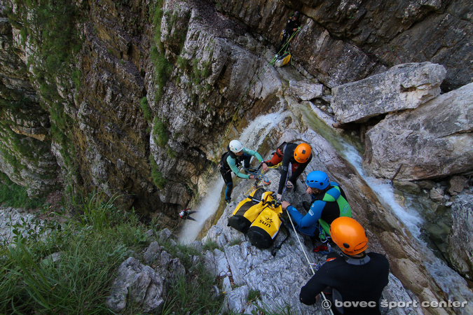 Canyoning Valle d'Isonzo sofisticato - Predelica