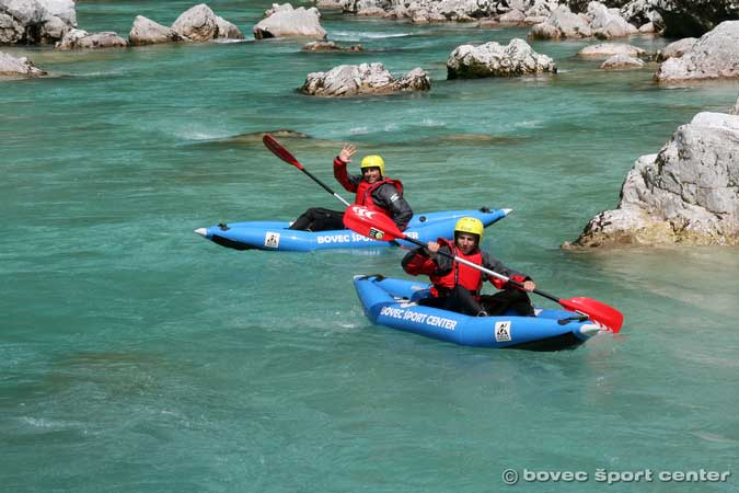 Soča river Kayaking